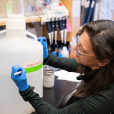 Karen Dobos hand sanitizer