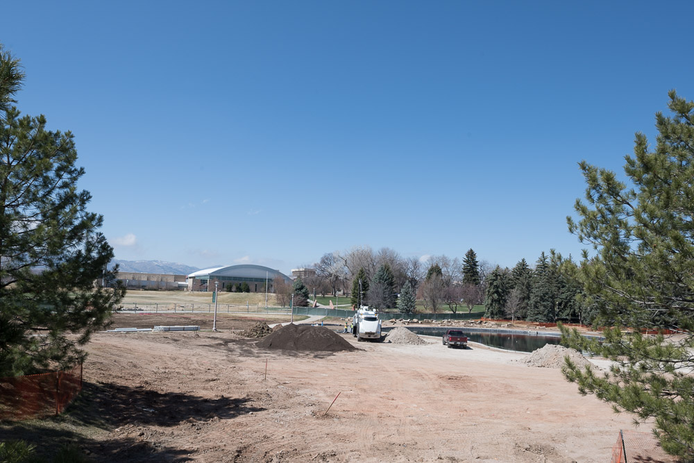 Construction at the Foothills Campus