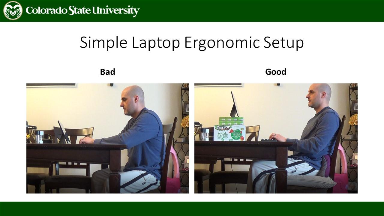 Good vs. bad computer setup