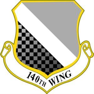 Josh Johnson 140th Wing logo