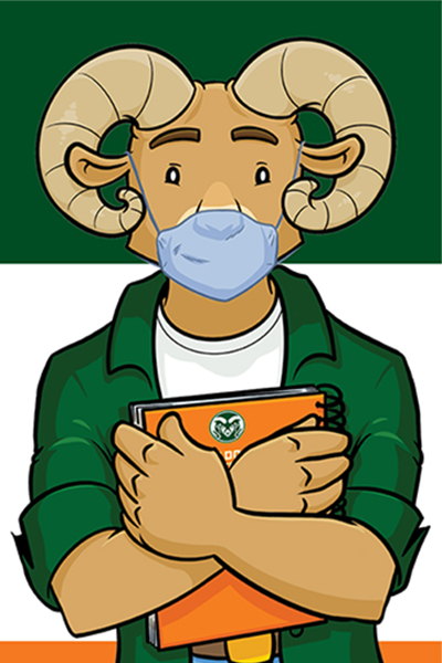 Wear your mask: Majority of CSU students motivated to practice safe public health behaviors 1