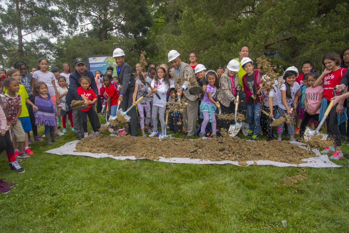 unveiling of Paco Sanchez Park in Denver June 2018