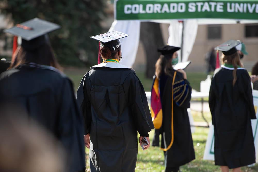Graduates on Oval
