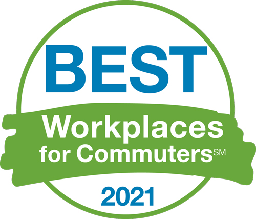 Best workplace for commuters 2021 logo