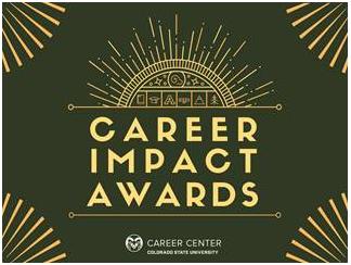 Career Impact Award graphic