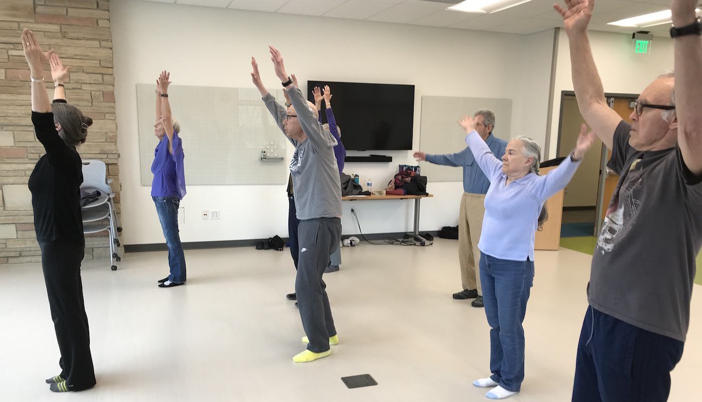 Moving through Parkinson's class