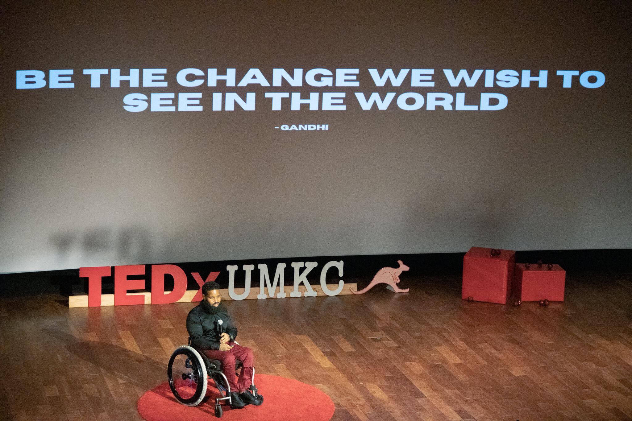 Wesley Hamilton at TED x UMKC talk