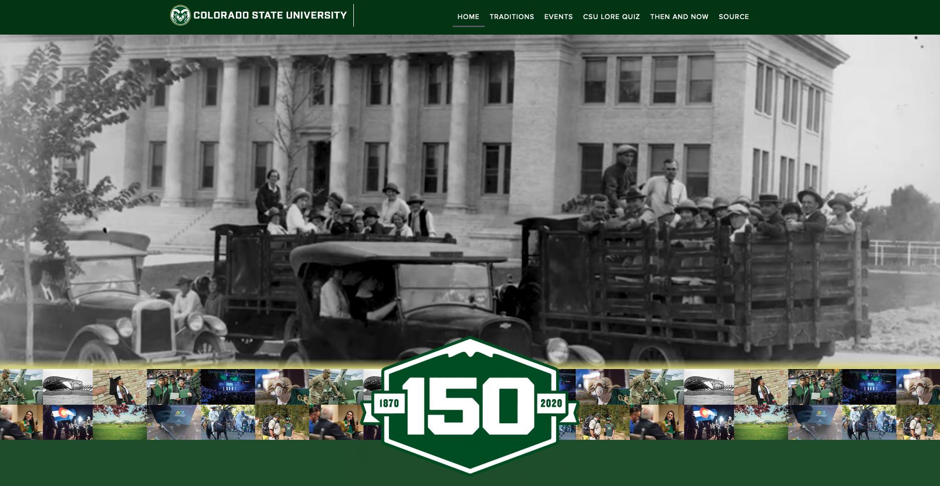 CSU 150 website