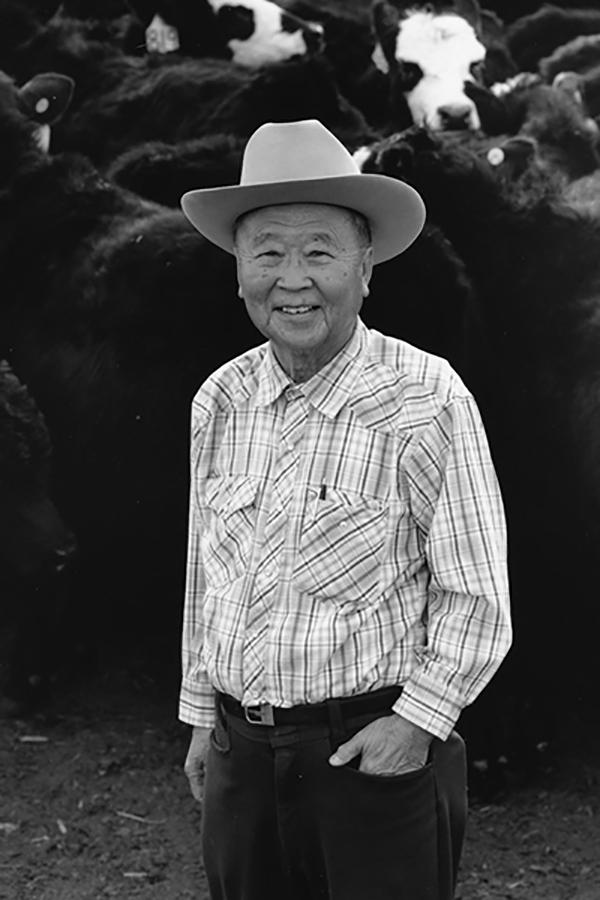 John Matsushima black-and-white photo