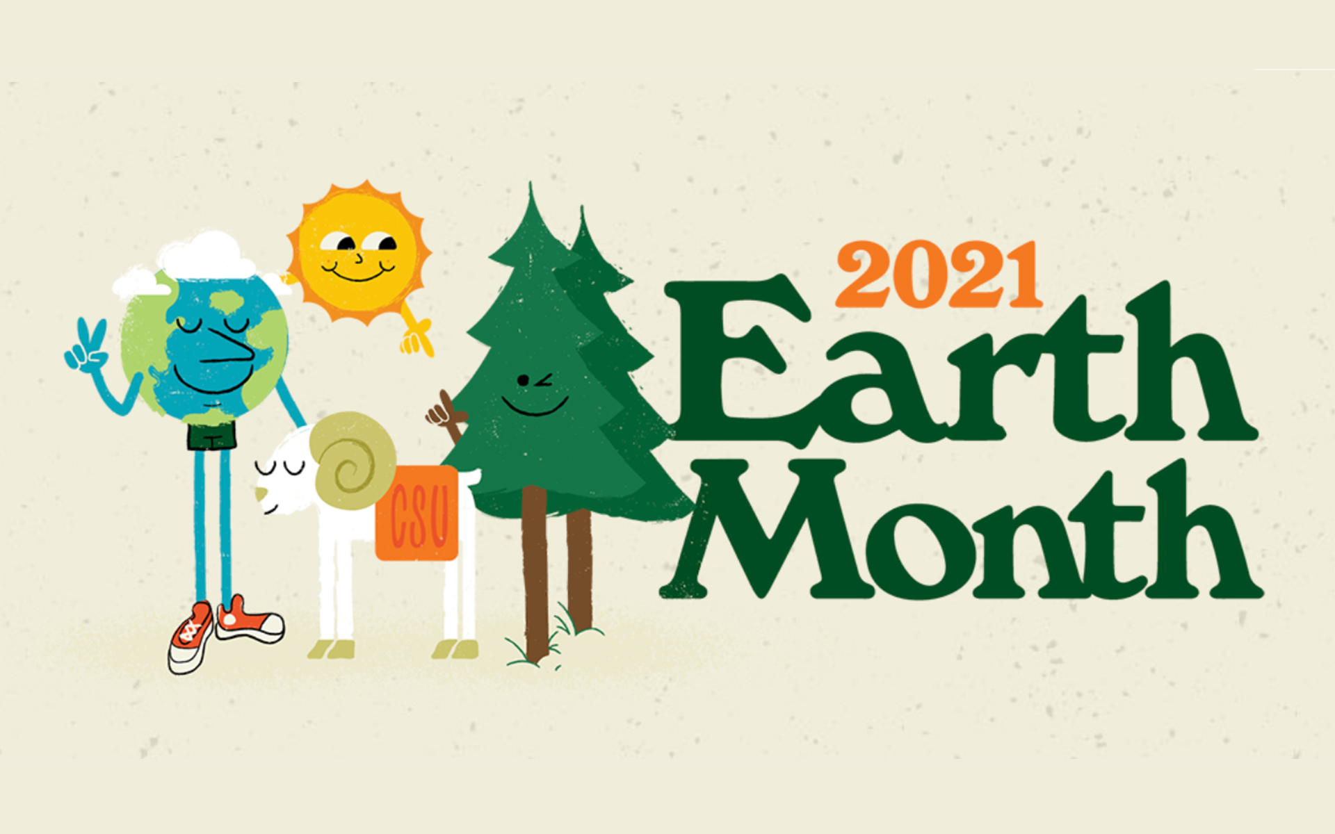 CSU Earth Month 2021 Banner Graphic