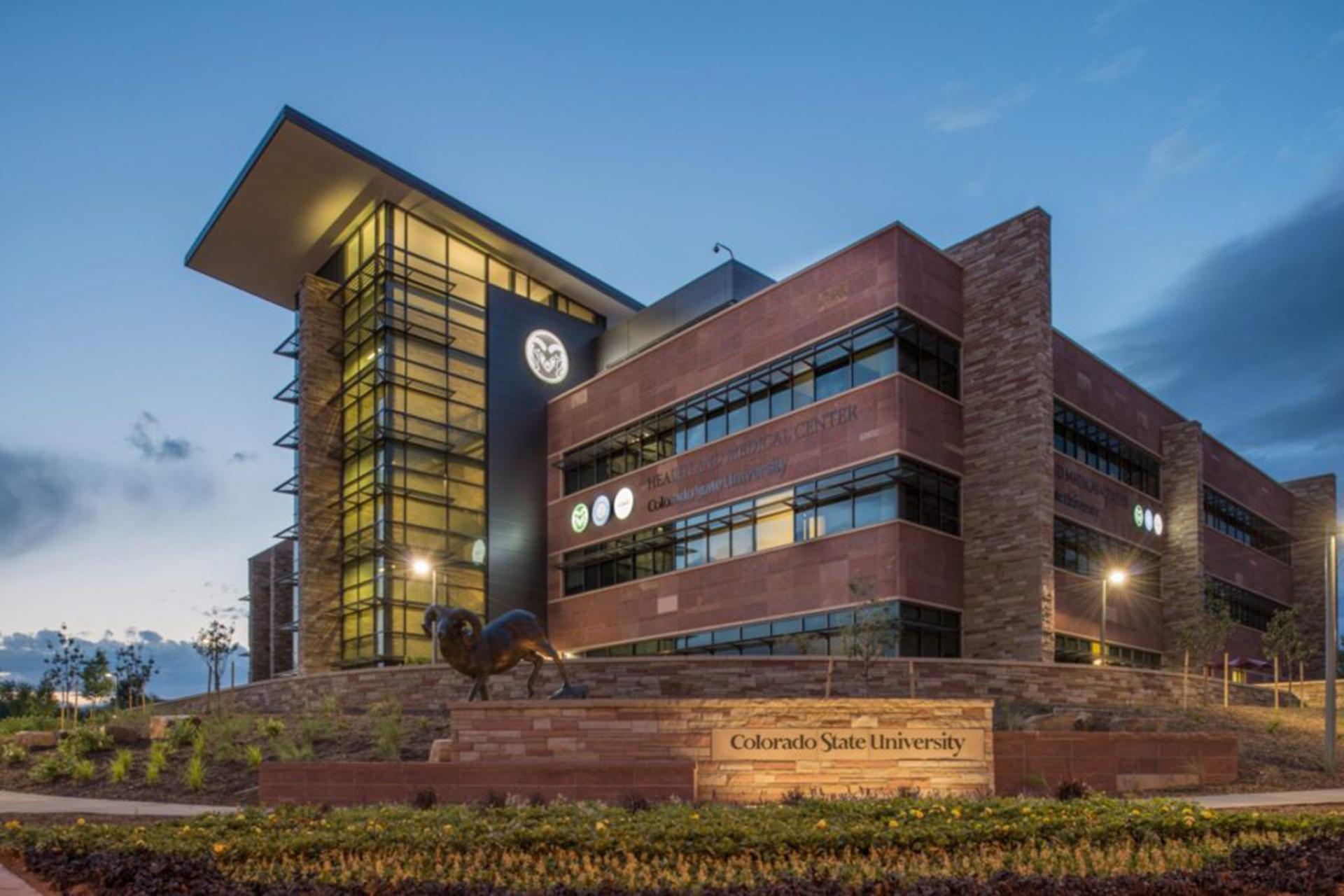 CSU Health Network building