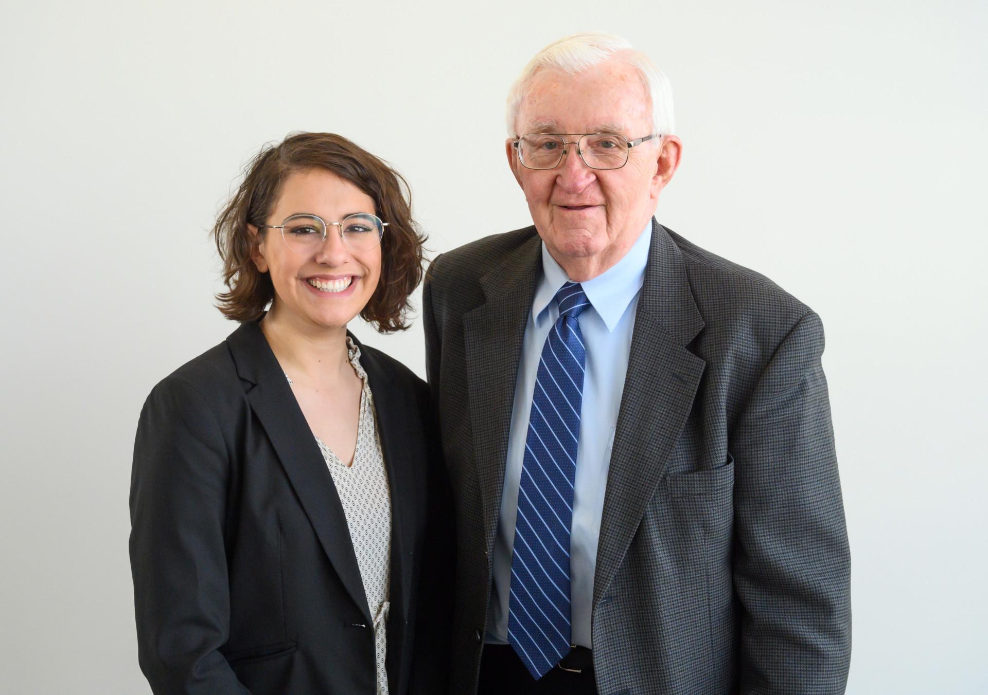 Theresa Centola and Robert Longenbaugh