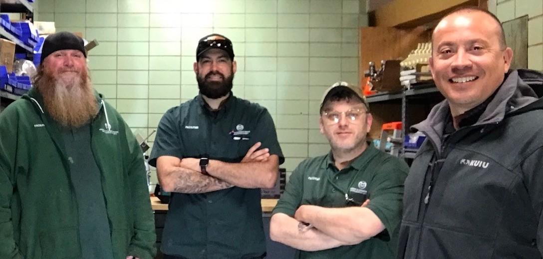 HDS Facilities Dining Maintenance team