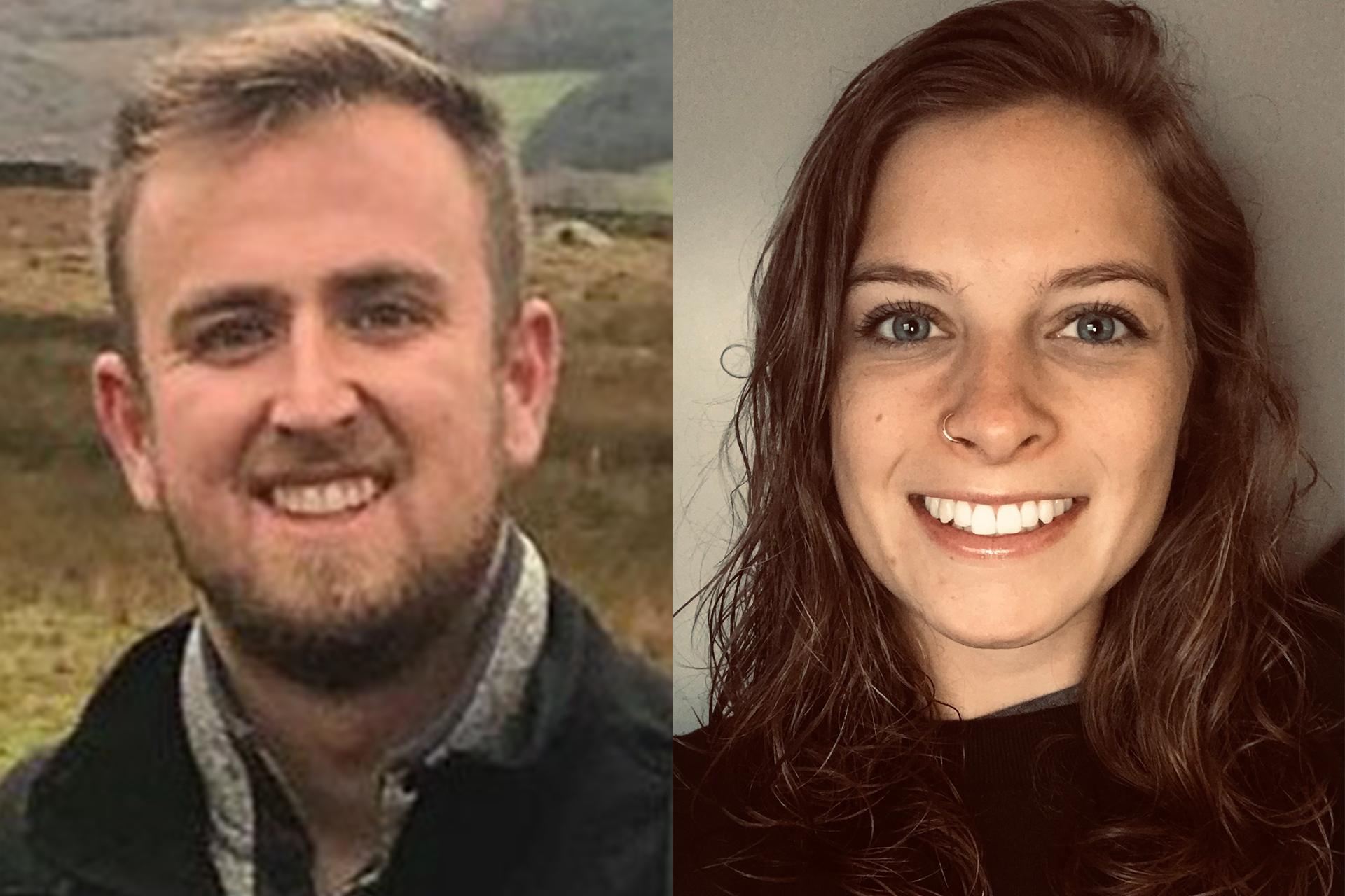 Mitch Roberts and Taylor Ziska