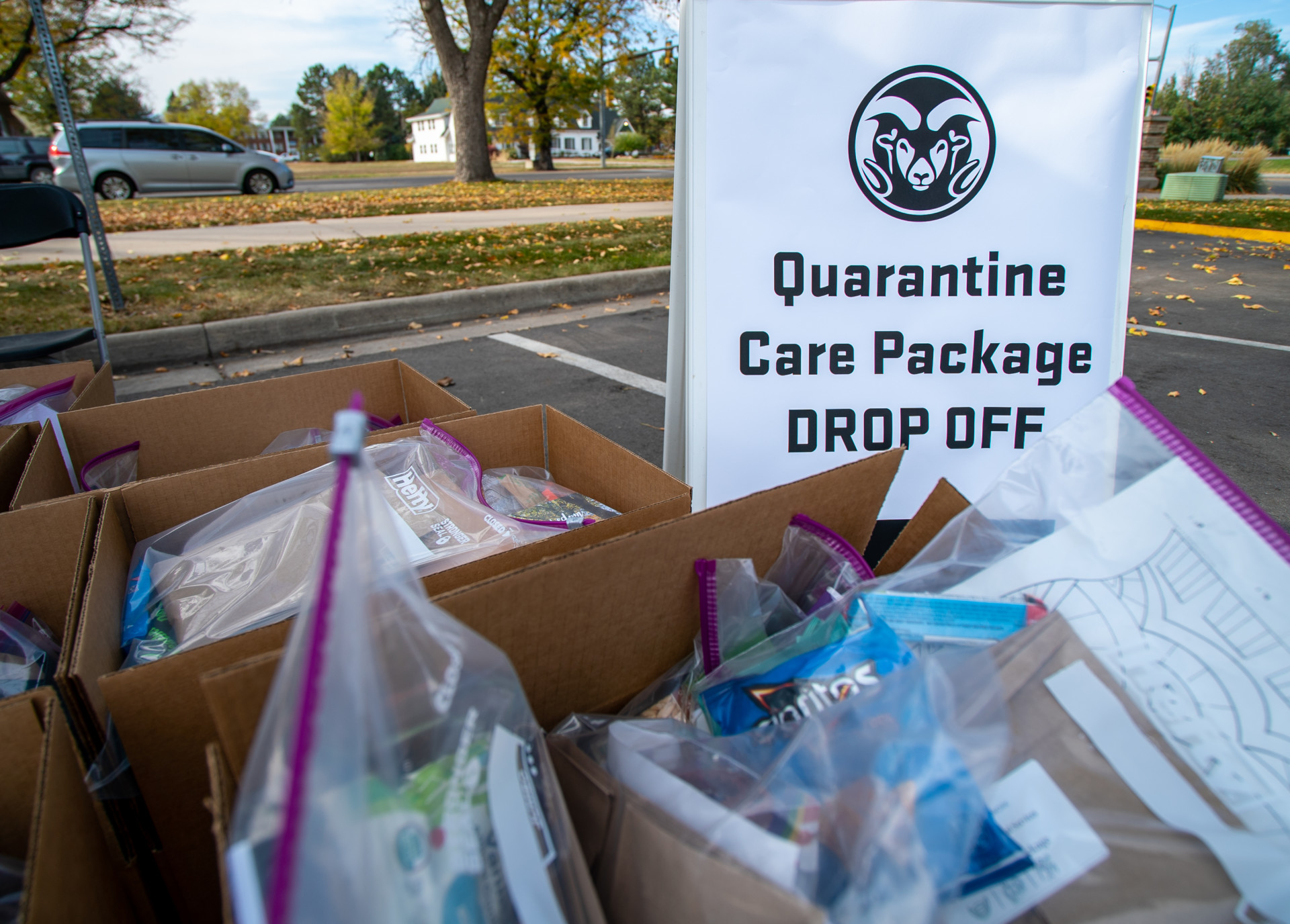 CSU Care Package Drop Off