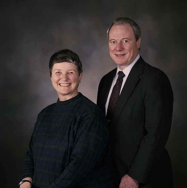 Tom and Jean Sutherland