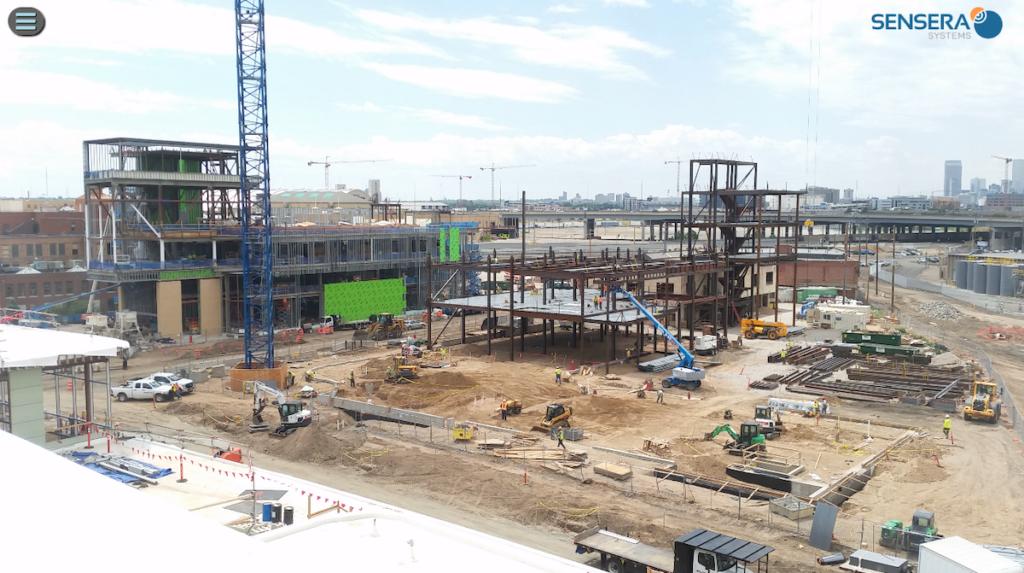 Still image from a construction camera