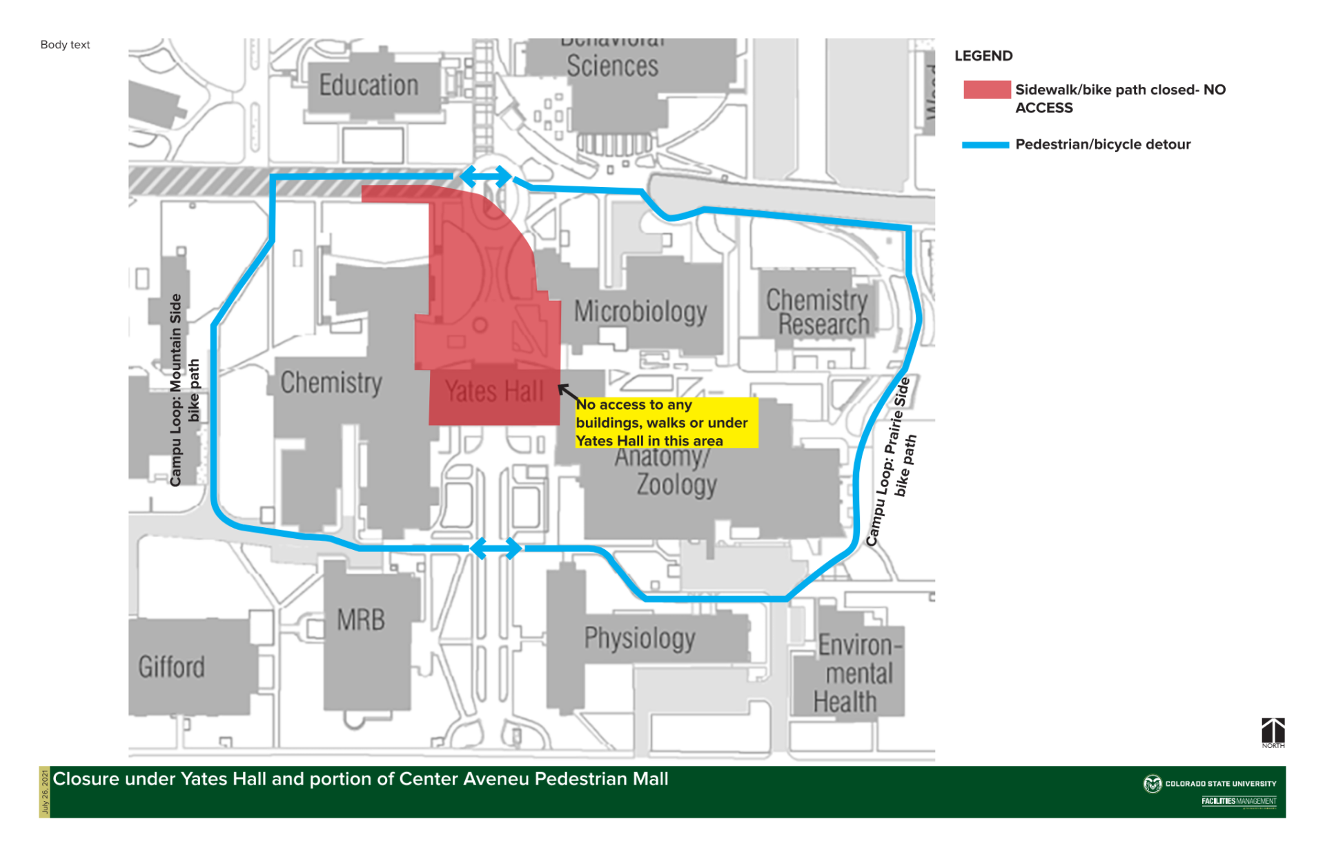 Yates Center Ave Mall Outage Map