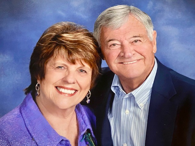 Linda and Bob Cates
