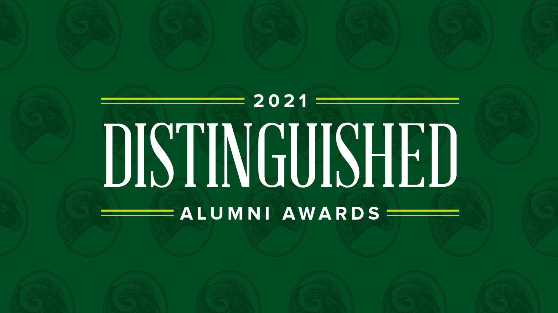 Distinguished Alumni Awards 2021 Graphic