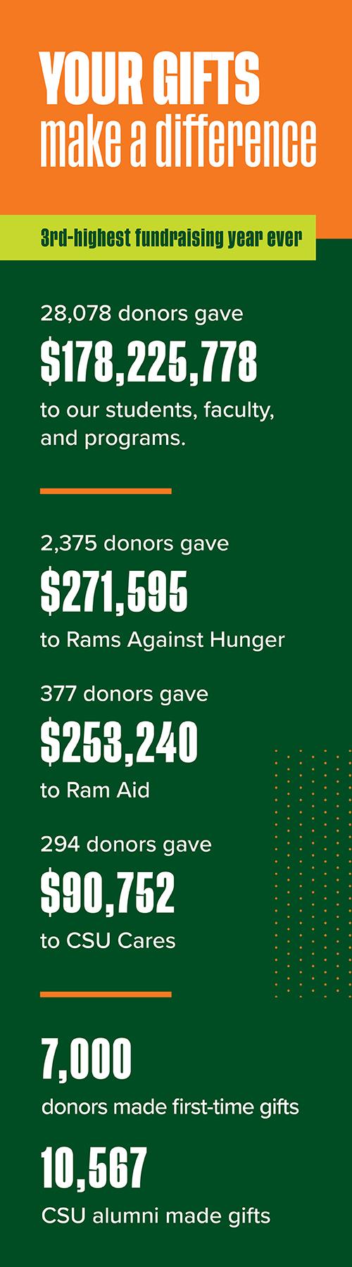 Fundraising infographic