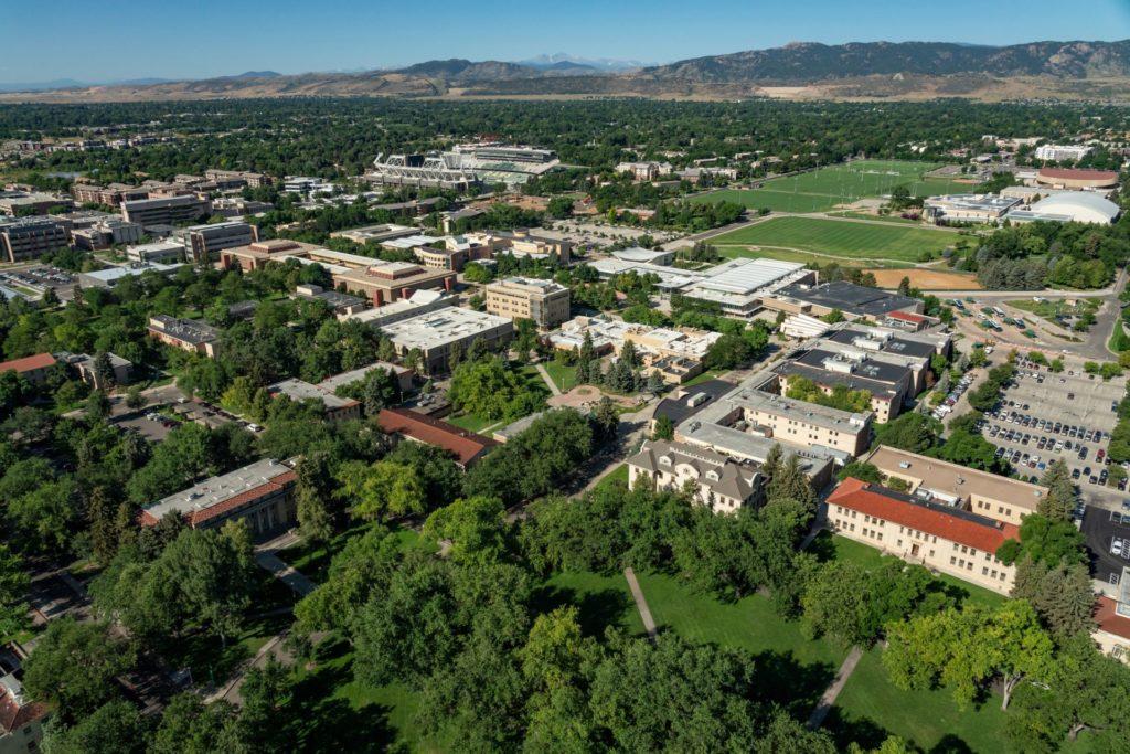CSU Aerial View