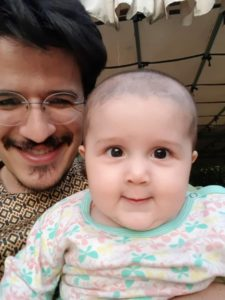 Mahmod and his daughter