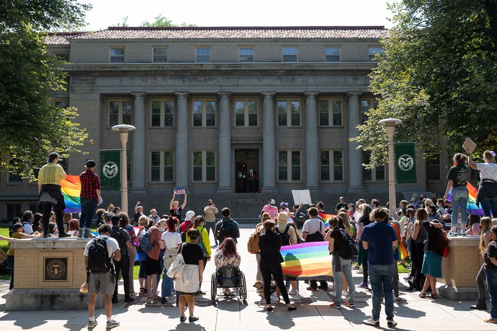Demonstration at CSU