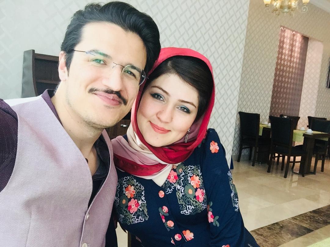 Mahmod and his wife