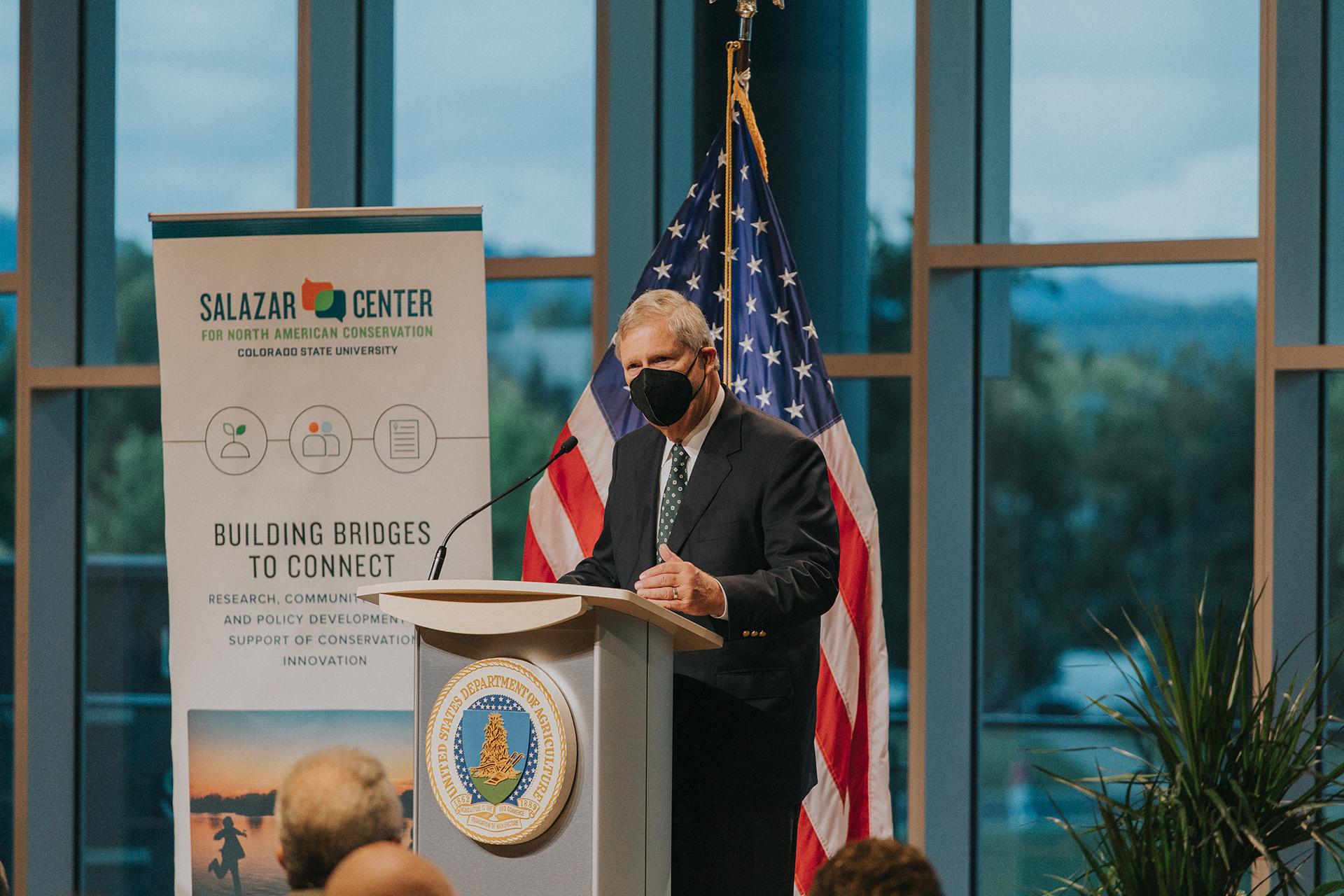 Secretary Tom Vilsack Speaks At CSU