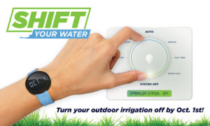 Shift Your Water promo