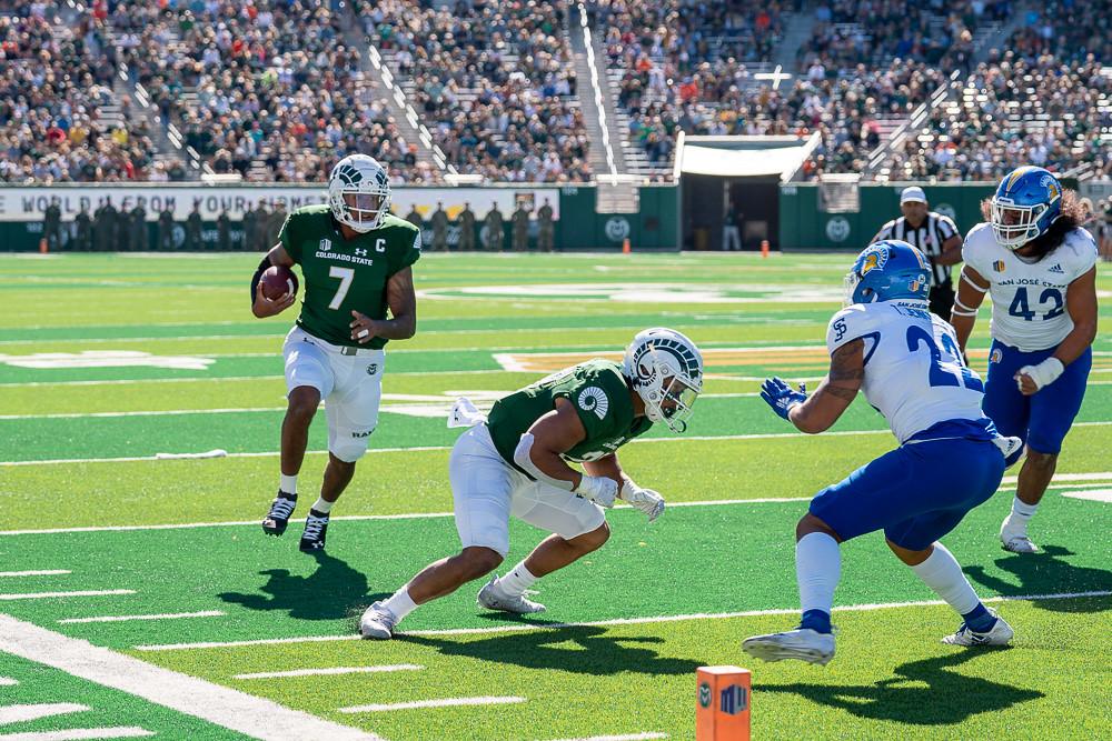 CSU touchdown
