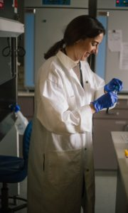 Dr. Angela Bosco Lauth in the Bowen Lab